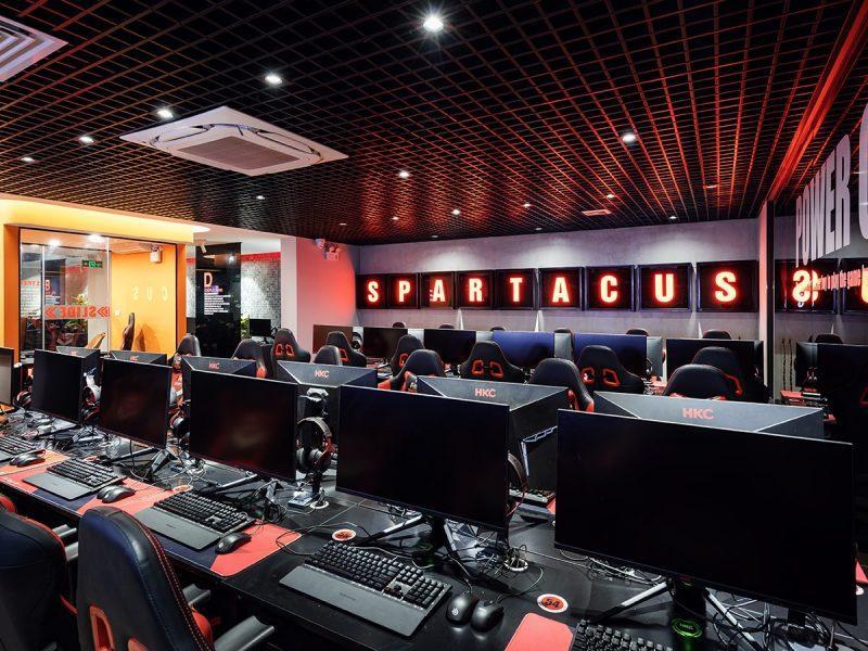 spartacus gaming center
