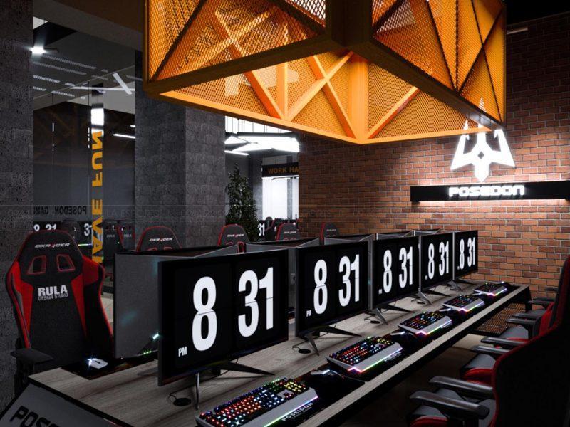 poseidon gaming center
