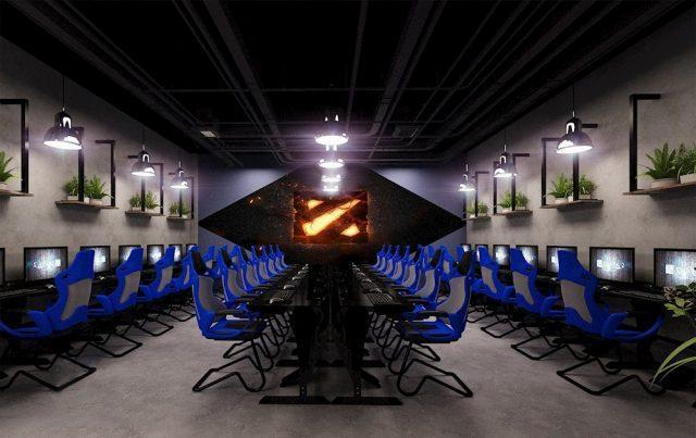 Thiết kế phòng net gaming X