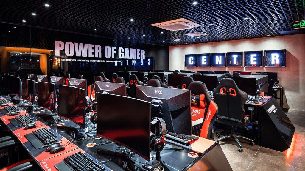 Thiết kế phòng net spartacus gaming center